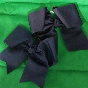 Other - Set of Navy Blue Hair Bows
